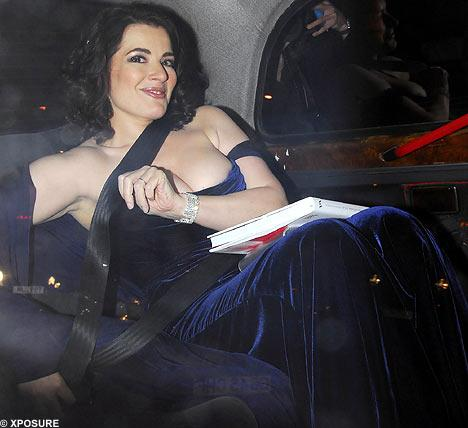 Nigella Lawson wins Breast Supporting Dress