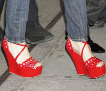 Dance in thy red shoes till thou art pale and cold!