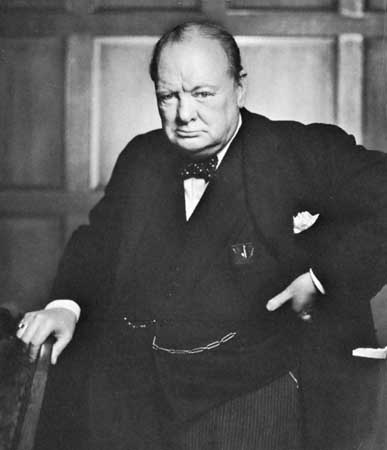 Winston Churchill = Awesome. Winston Churchill + Gin = AwesomER.