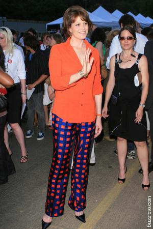 Sigourney Weaver can't hear you over her pants