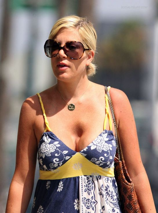 Tori Spelling and the Chest Crater of Doom
