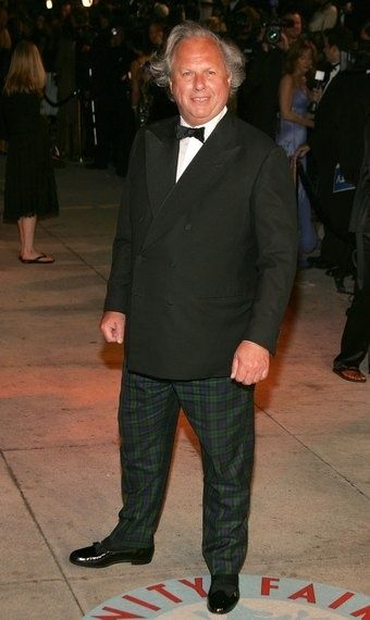 Graydon Carter, go take off your pjs and put on some proper pants!