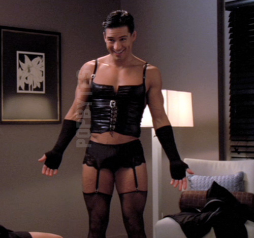 Mario Lopez on Nip and Tuck