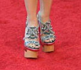 Shakira's clogs