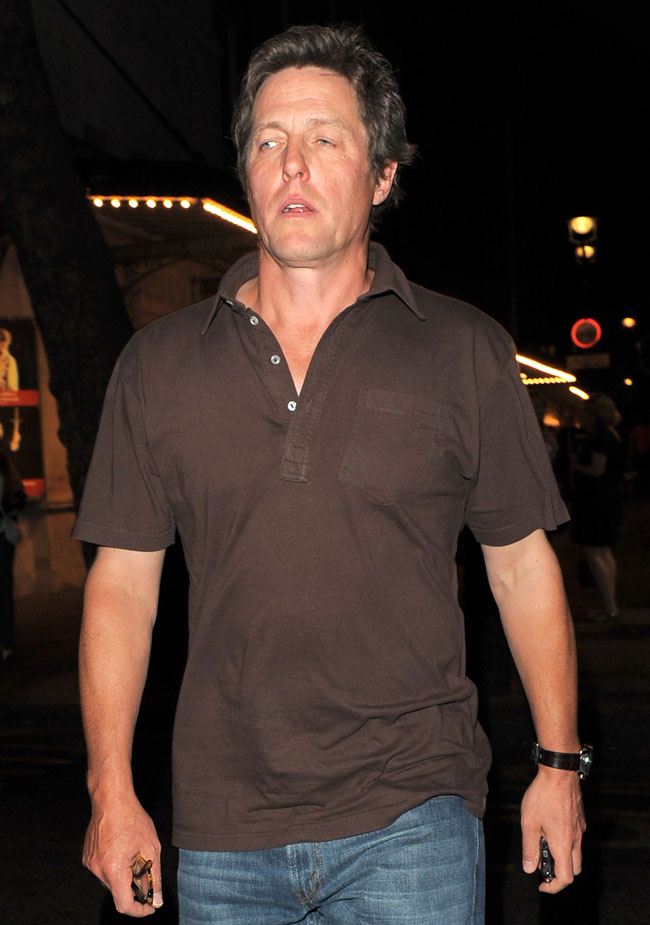 Hugh Grant looking fine