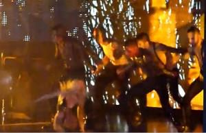 Lady Gaga Goes Down