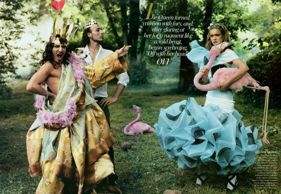 John Galliano IS a queen