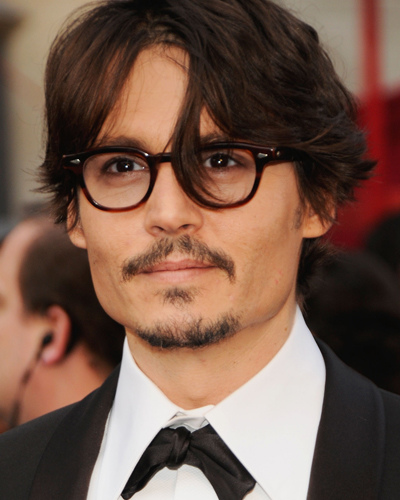 Johnny Depp is Old Four Eyes