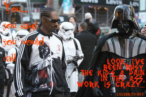 Snoop Vader Luv Show the Dark Side of Luv