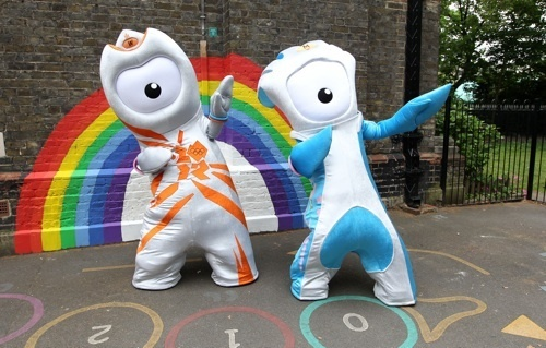 Wenlock and Mandeville, Olympic and Paralympic mascots