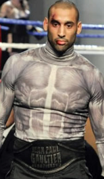 Jean-Paul Gaultier muscle tee