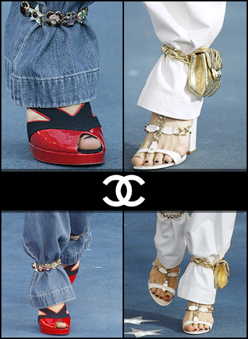Chanel bikecuffs