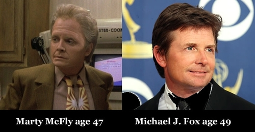 Michael J Fox Marty McFly