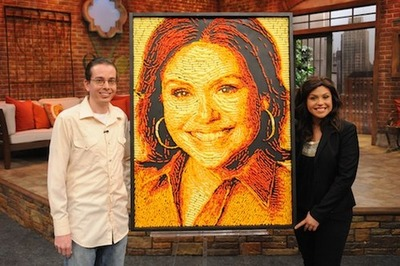 Rachel Ray in Cheetos
