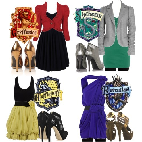 Harry Potter Hogwarts Houses Makeover