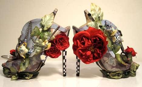 nicholas kirkwood alice in wonderland heels