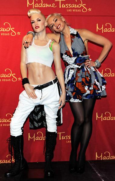Gwen Stefani and Gwen Stefani