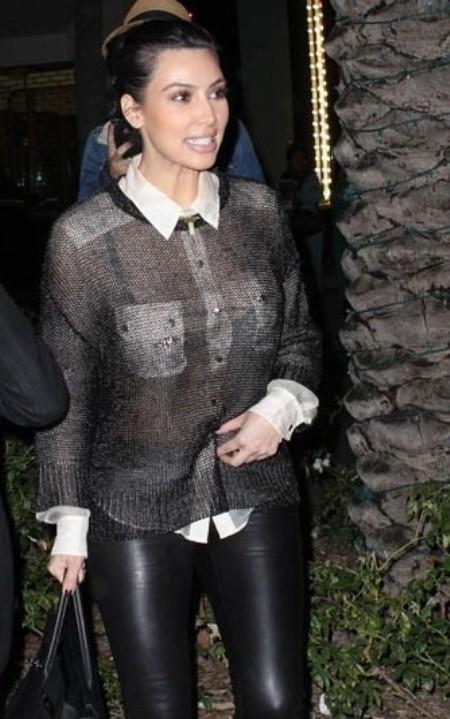 Kim Kardashian Kardigan