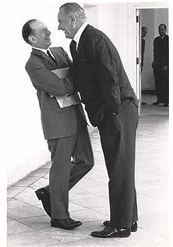"As a texan, LBJ had problems with the concept of ""personal space"""