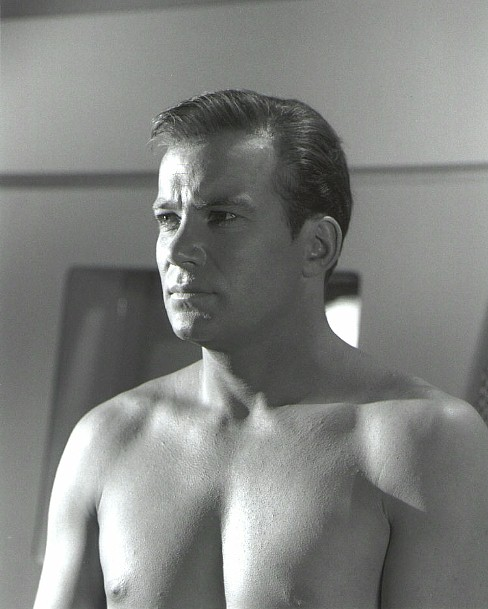 William Shatner shirtless