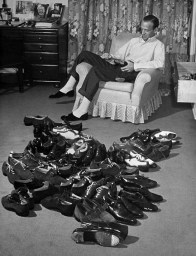 Fred Astaire loved his shoes