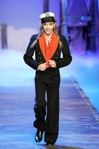 Hello, Sailor! John Galliano is fit for an Olive Oyl