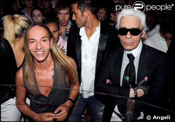 Galliano and Uncle Karl