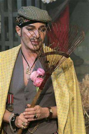 John Galliano IS a rake