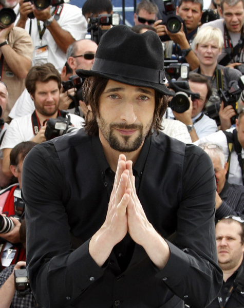 Adrien Brody's prayers were