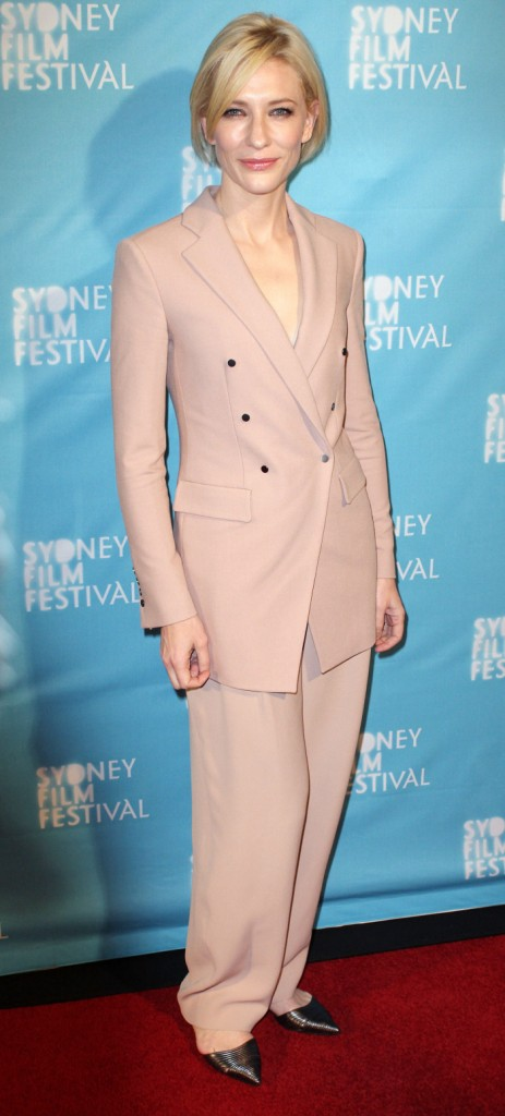 Cate Blanchett will help you now. Would you like to see the new colours for Summer '11?