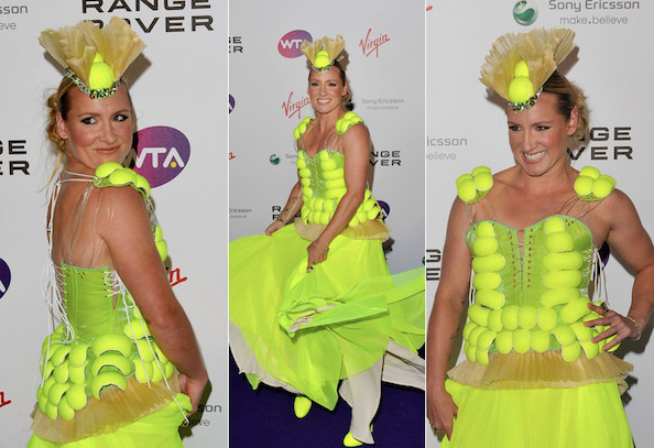 Tennis Ball Dress
