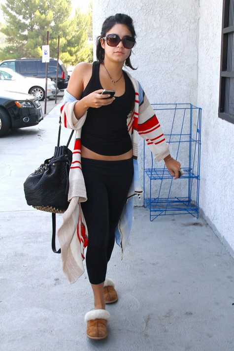 Vanessa Hudgens Slips Up