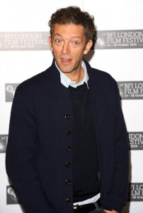 Vincent Cassel has that Gold Digger look about him. But I covet that sweaterjacket.