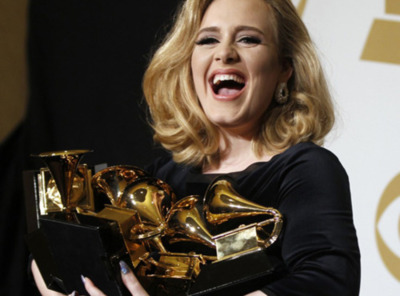 Win! All the! GRAMMYS! ADELE!
