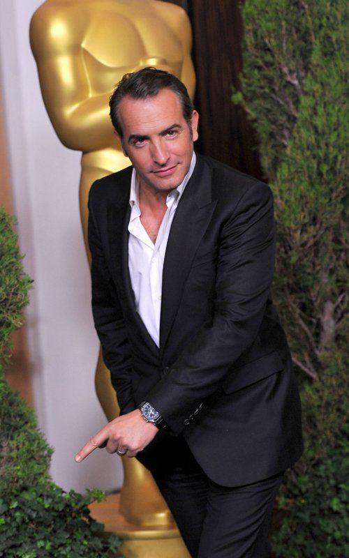 Jean Dujardin has a point to make