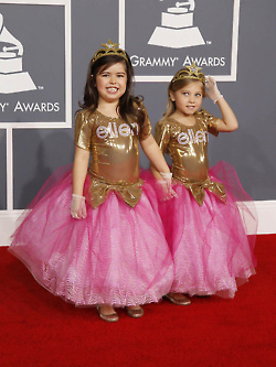 Mini Minaj at the 54th Annual Grammy Awards