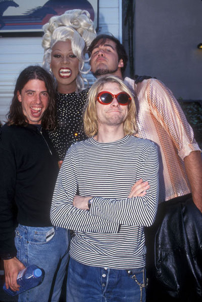 Nirvana and RuPaul