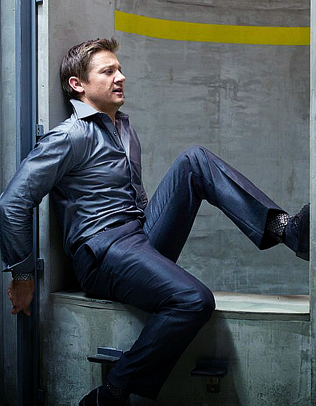 Jeremy Renner is coordinated
