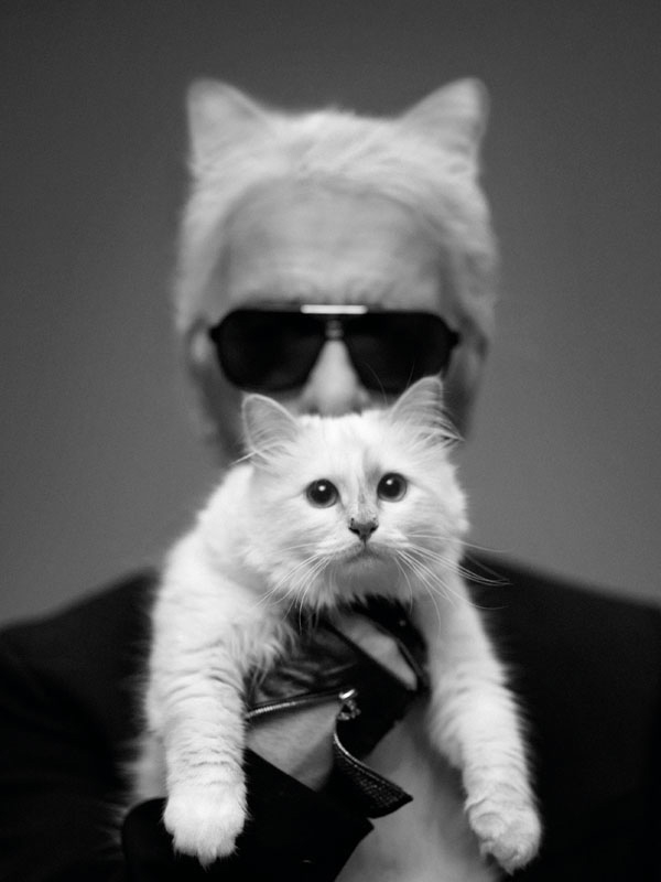 Princess Choupette and Uncle Karl