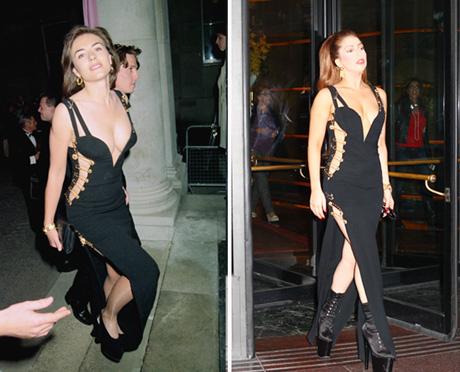Gaga vs Liz Hurley