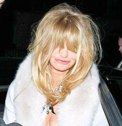 Goldie Hawn Faces of Mess