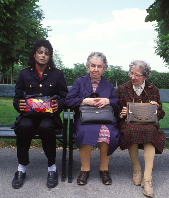 Michael Jackson and the last two people indifferent to him
