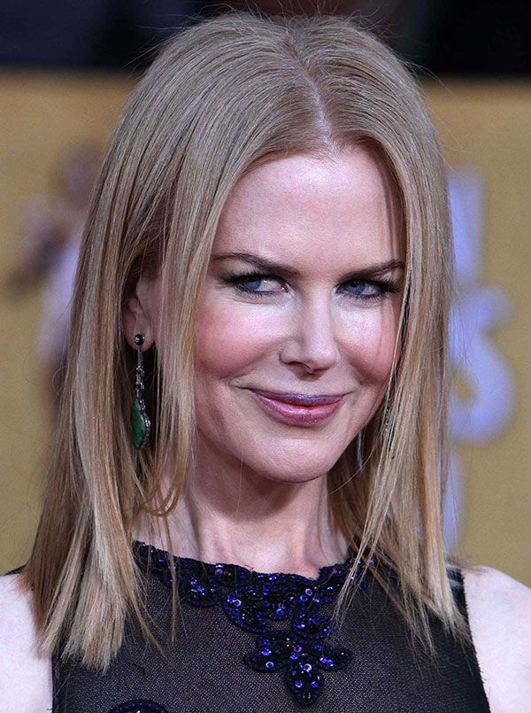Nicole Kidman is a square. Or at least a rectangle.