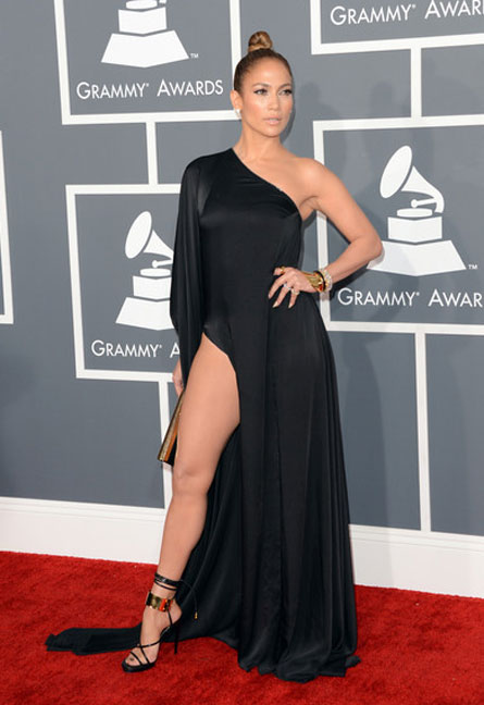 Jlo grammy leg