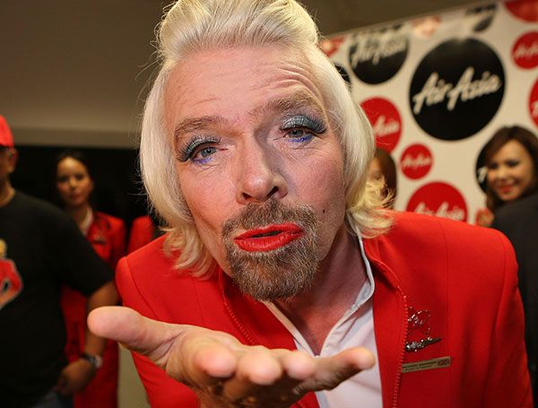 Richard Branson welcomes you
