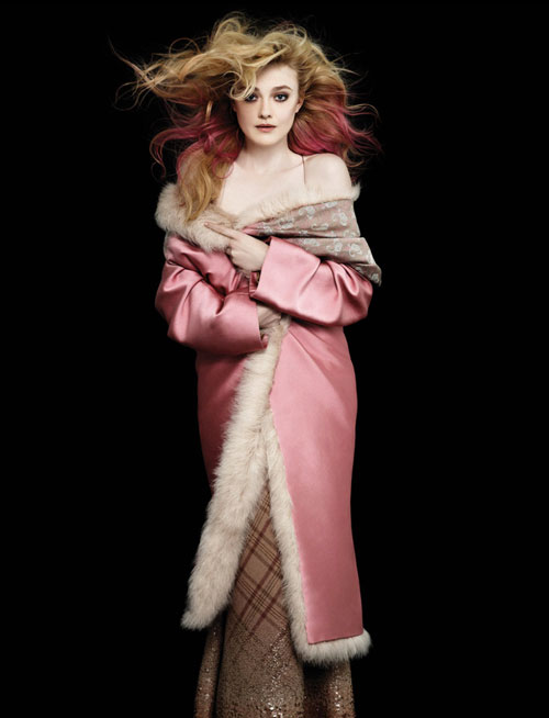 Dakota Fanning in Harper's Bazaar