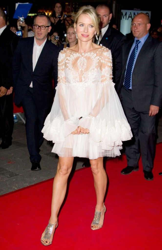 Marchesa dress wearing Naomi Watts