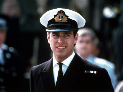 Prince Andrew Uniformly Attractive