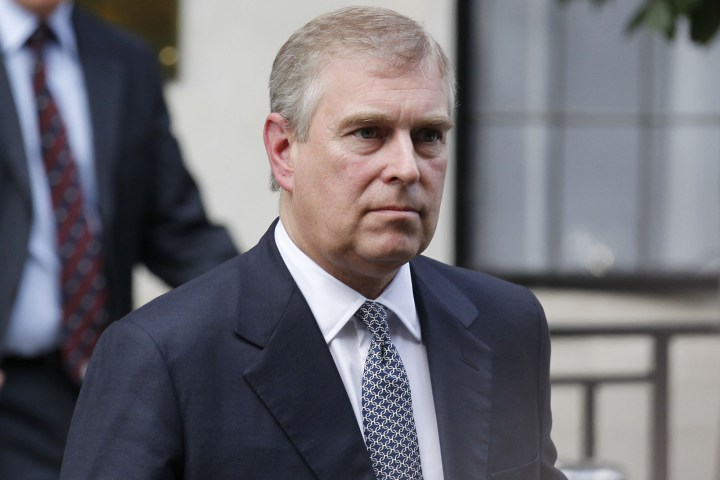 Prince Andrew today *SOBS*