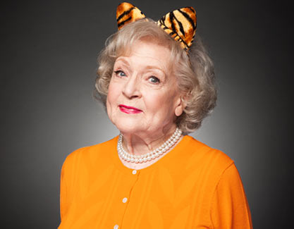 Betty White is a super Cougar